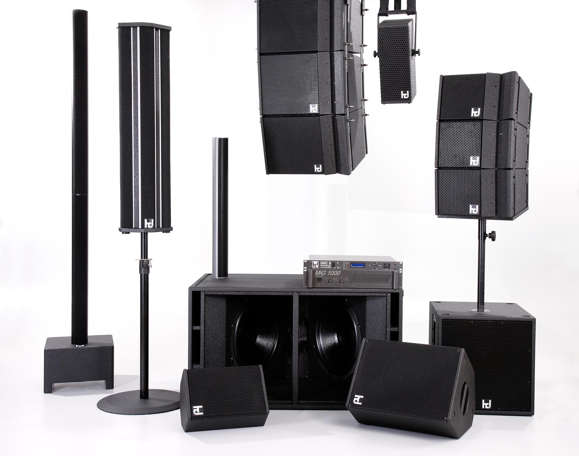 2008: Harmonic Design Säulenlautsprecher erobern den Markt ...