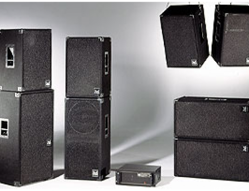 1988: First speaker system with integrated processor
