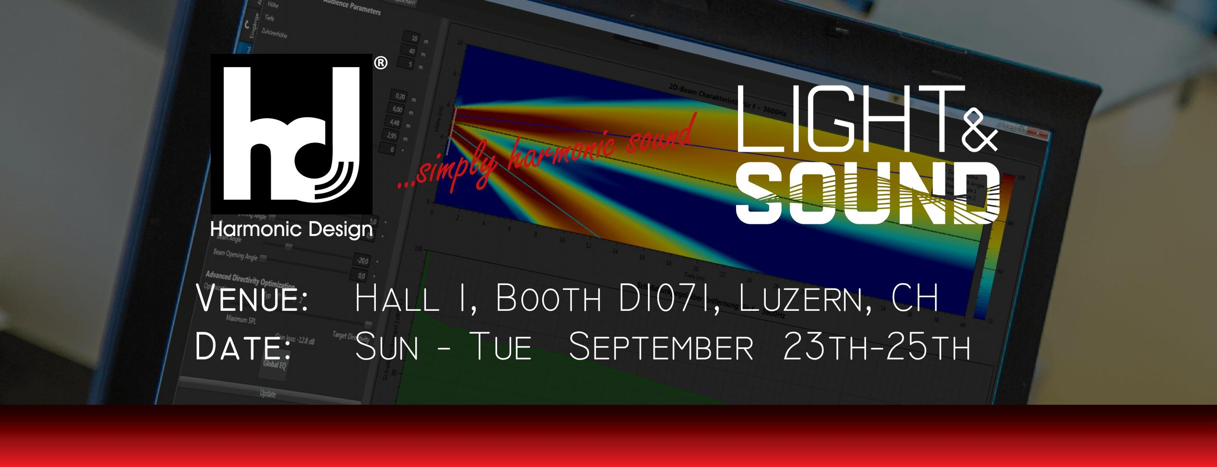 light&sound vom 23.-25. September in Luzern, CH