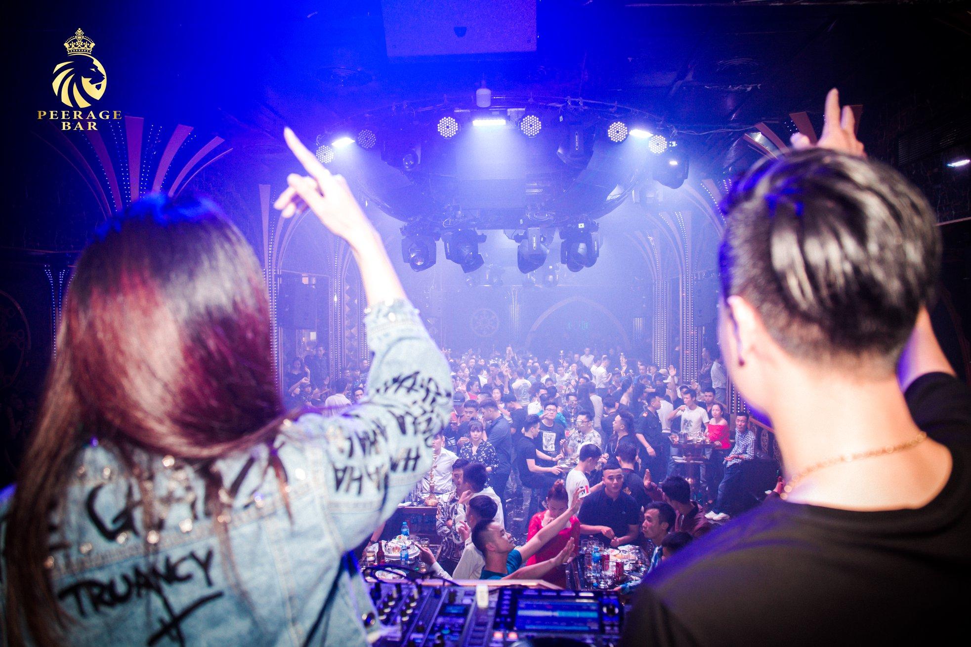 EDM-Clubinstallation in Vietnam