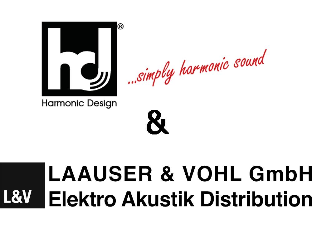 Harmonic Design – neu im Vertrieb der Laauser & Vohl GmbH